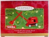 Hallmark 2001 Tonka 1955 Steam Shovel Keepsake Ornament