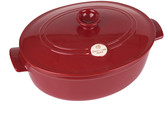Emile Henry Oval Stewpot - 6L - Red