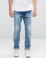 Scotch & Soda Scotch and Soda Stone Wash Slim Fit Jeans
