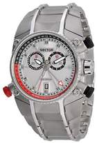 Sector Men's Quartz Watch with Silver Dial Chronograph Display and Silver Stainless Steel Bracelet R3273695215