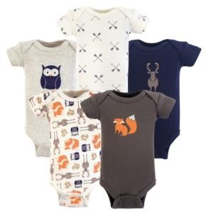 Hudson Baby Preemie Bodysuits, 5-Pack, Premie