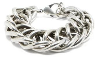 Saint Laurent Curb-chain Bracelet - Silver