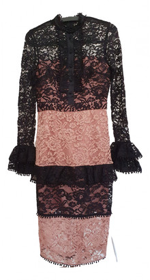 Alexis Pink Lace Dress for Women