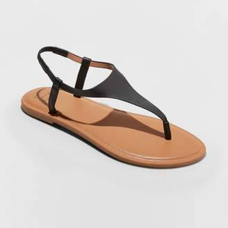 A New Day Women's Norah T-Strap Naked Sandals