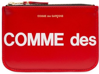 Comme des Garcons Small Logo Printed Pouch