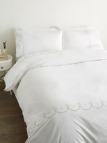 Barbara Barry Pearls Duvet Cover