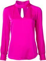 Trina Turk cut-out detail blouse