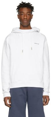 Off-White Off White White Logo Hoodie