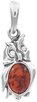 Nature d'Ambre Single Pendant (No Chain) Silver 925 Amber - 31610238RH