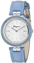 Salvatore Ferragamo Women's FIB010015 SPARKS Analog Display Quartz Blue Watch