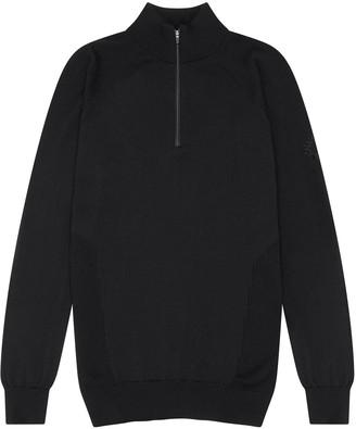 Shackleton Marston Merino Quarter Zip Sweater