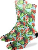 Good Luck Sock Men's Rainforest Toucan Crew Socks