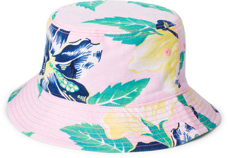 Ralph Lauren Reversible Oxford Bucket Hat