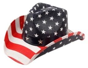 Epoch Hats Company Angela & William American Flag Cowboy Hat
