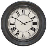 "Cole & Grey 32"" Wood Wall Clock"