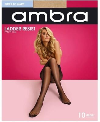 Ambra Ladder Resist Sheer To Waist Pantyhose Natural