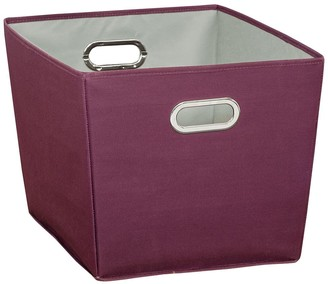Honey-Can-Do Purple Large Storage Bin