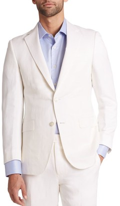 Saks Fifth Avenue COLLECTION BY SAMUELSOHN Classic-Fit Silk & Linen Sportcoat