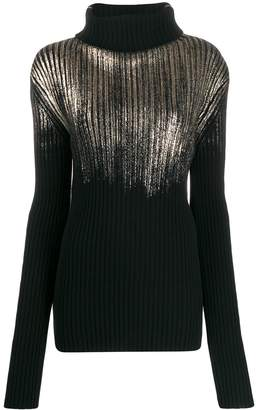Ann Demeulemeester ribbed knit sweater