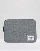 Herschel Anchor Laptop Sleeve In Crosshatch