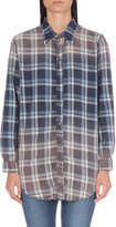 NSF Polina cotton check shirt