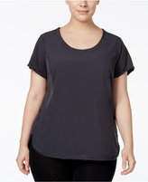 Calvin Klein Plus Size Racerback T-Shirt