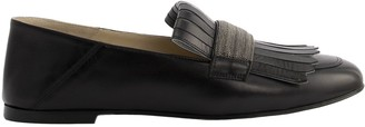 Fabiana Filippi Beatrice Leather Moccasins