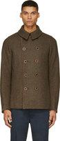 Visvim Green Wool Lieutenant Matoi Jacket
