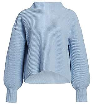 A.L.C. Women's Helena Drop-Shoulder Mockneck Sweater