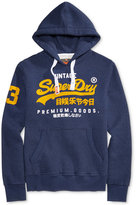 Superdry Men's Premium Goods Dup Graphic-Print Hoodie