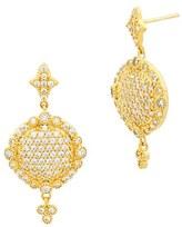 Freida Rothman Women's 'Mercer' Pave Drop Earrings