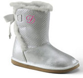 Classic Girls' Lilly Cozy Short Boots-Soft Silver Metallic