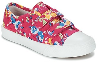 Polo Ralph Lauren DYLAND EZ girls's Shoes (Trainers) in Pink