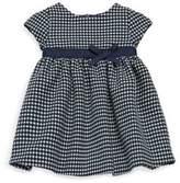 Tartine et Chocolat Baby's Short Sleeve Houndstooth Dress