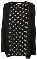 Saint Laurent Studded Trim Cardigan