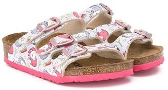Birkenstock Kids Unicorn buckle sandals