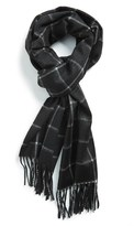 Nordstrom Men's Windowpane Cashmere Scarf