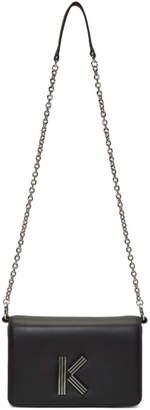 Kenzo Black Chainy Crossbody Bag