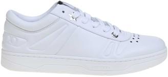 Jimmy Choo Sneakers Hawaii / M White Leather