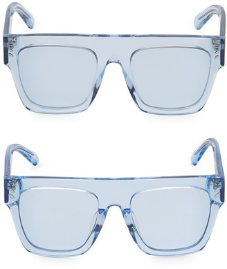 Stella McCartney Mum & Me Clear Flat Top Sunglasses 2-Pair Set