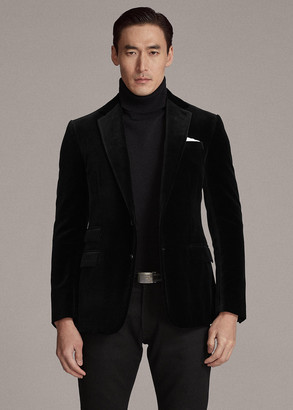 Ralph Lauren Kent Formal Velvet Jacket