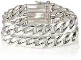 Sidney Garber Women's Double-Strand Curb-Chain Bracelet