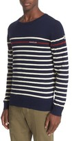 Moncler Men's Stripe Cotton Sweater