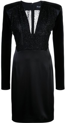 HANEY Stam fitted dress