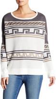 Jack Neville Printed Boxy Sweater