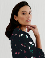 Thumbnail for your product : Marks and Spencer Floral Frill Detail Midi Tea Dress