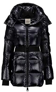 SAM. Women's Soho Belted Down Puffer Jacket