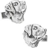 Cufflinks Inc. Men's Sterling Labrador Cufflinks
