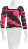 Missoni Patterned Square Neck Top