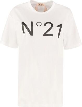 N°21 N.21 Cotton Crew-neck T-shirt